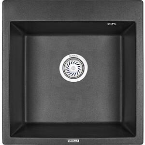 Мойка кухонная Granula 50,5х51 см черный (GR-5102 черный) лампочка asd led jc standard 3w 3000k 12v g4 4690612004624