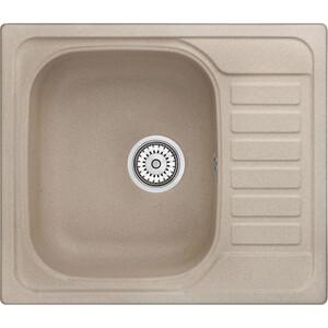 Мойка кухонная Granula 57,5х49,5 см песок (GR-5801 песок) мойка кухонная granula 77 5x49 5 см песок gr 7801 песок
