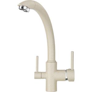 Смеситель для кухни Granula с краном под питьевую воду (GR-2615 песок)