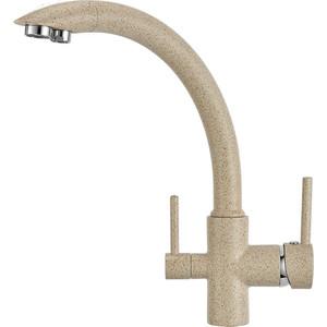 Смеситель для кухни Granula с краном под питьевую воду (GR-2615 классик) argo смеситель для кухни olimp под питьевую воду ø35 г излив 25 см монтаж на гайку pmv z nks