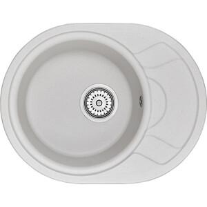 Мойка кухонная Granula 57,5х44,5 см арктик (GR-5802 арктик) мойка кухонная granula 89x49 см арктик gr 9101 арктик