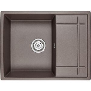 Мойка кухонная Granula 65х50см эспрессо (GR-6501 эспрессо) кухонная мойка granula 4201 классик