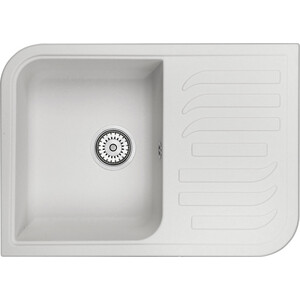 Мойка кухонная Granula 69,5х49,5 см арктик (GR-7001 арктик) мойка кухонная granula 89x49 см арктик gr 9101 арктик