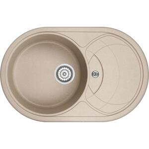 Мойка кухонная Granula 77,5x49,5 см песок (GR-7801 песок) мойка кухонная granula 77 5x49 5 см песок gr 7801 песок