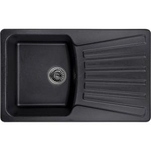 Мойка кухонная Granula 79x50 см черный (GR-8001 черный) кухонная мойка granula 4201 классик