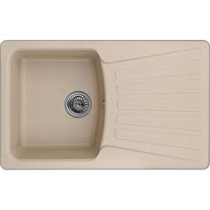 Мойка кухонная Granula 79x50 см песок (GR-8001 песок) мойка кухонная granula 77 5x49 5 см песок gr 7801 песок