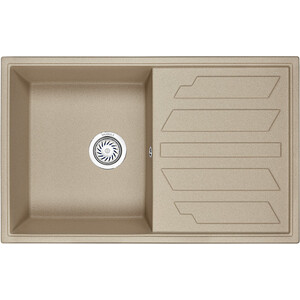 Мойка кухонная Granula 79x50 см песок (GR-8002 песок) classic luxury royal reproduction industrial furniture wardrobe cabinet 8002