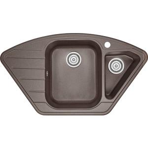 Мойка кухонная Granula 89x49 см эспрессо (GR-9101 эспрессо) кухонная мойка granula 4201 классик