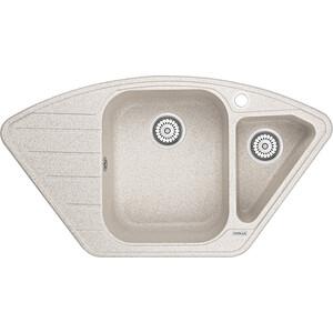 Мойка кухонная Granula 89x49 см пирит (GR-9101 пирит) кухонная мойка granula 4201 классик