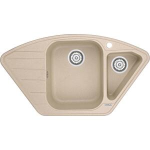 Мойка кухонная Granula 89x49 см песок (GR-9101 песок) мойка кухонная granula 89x49 см арктик gr 9101 арктик