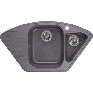 Мойка кухонная Granula 89x49 см графит (GR-9101 графит) мойка кухонная granula 50 5х51 см графит gr 5102 графит