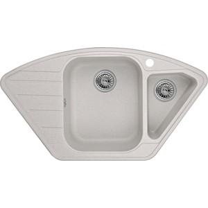 Мойка кухонная Granula 89x49 см базальт (GR-9101 базальт) кухонная мойка granula 4201 классик