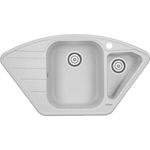 Мойка кухонная Granula 89x49 см арктик (GR-9101 арктик) furby рюкзак 35 см в полоску 1toy