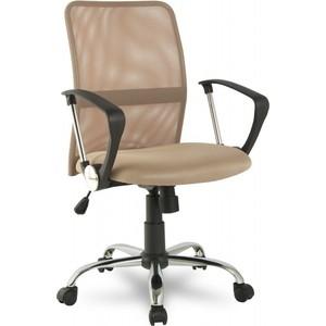 Офисное кресло College H-8078F-5 Beige кресло college h 8078f 5 ткань офисное крестовина хромированный металл подлокотники пластик коричневый
