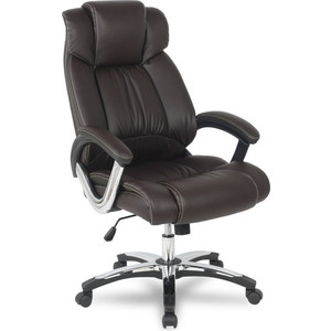 Кресло руководителя College H-8766L-1 Brown
