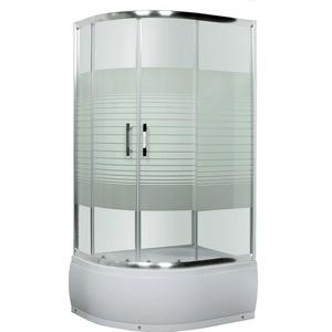 Душевой уголок Luxus Lang правостороняя с поддоном (L013 R) комплектующие для раковин david lang 2012