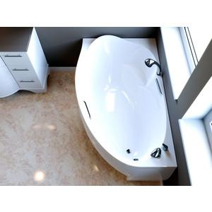Ванна из литого мрамора Фэма Стиль Аделина 170х98 см правая шкаф изотта 23к дверь правая ангстрем