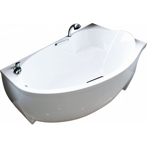 Ванна из литого мрамора Фэма Стиль Аделина 170х98 см левая ванна из литого мрамора фэма стиль айсберг 180х80 см
