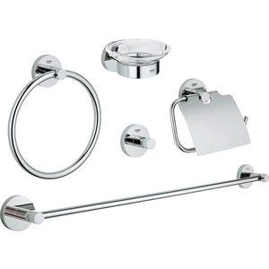 Набор аксессуаров для ванной Grohe Essentials 5 предметов