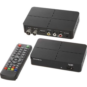 Тюнер DVB-T2 Supra SDT-90 золотой подвес ювелирное изделие 01p644581