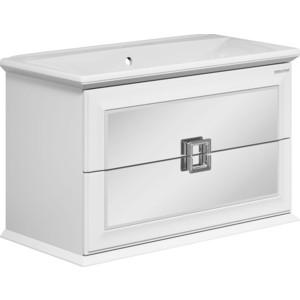 Тумба под раковину Edelform Миларита 90, 2 ящика, для раковины Болеро 900, белый (1-683-00-BL90) edelform нота 90 белый 2 618 00 s