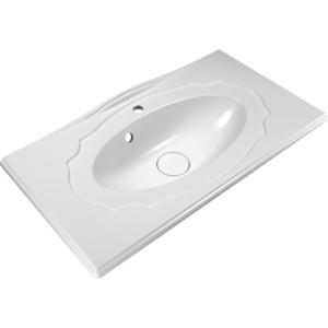 Раковина мебельная Edelform Гармония 90 белый (10.030.00900.001) edelform мебель для ванной edelform nota 75 белая