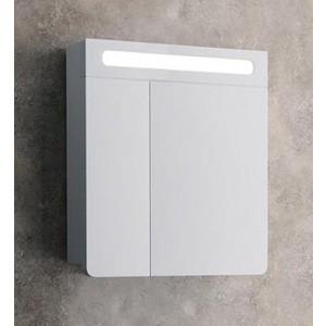 цены Шкаф-зеркало Edelform Гласс 60, белый (1-622-30-E80)