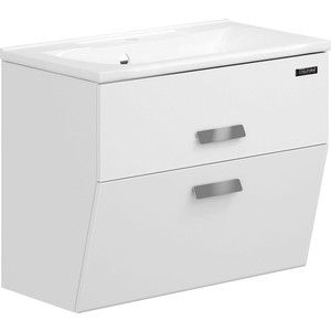 Тумба под раковину Edelform Фортэ 80, 2 ящика, для раковины Прима 800, белый ( 1-765-00-PR80)
