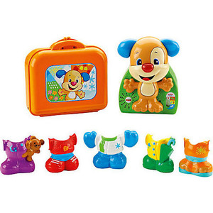 Развивающая игрушка Fisher Price Смейся и учись. Наряди щенка (DRH53)