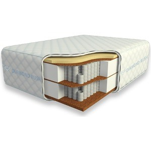Матрас Diamond rush Cocos-2 Ergo Light 40sm+ (140x195x44 см)