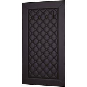 Вешалка в прихожую Мебелик Оливия Н2 эко-кожа коричневый нежилого помещения н2 барнаул