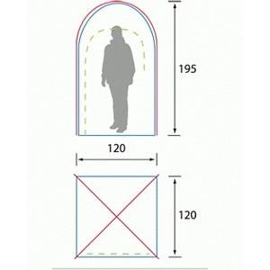 Тент Campack Tent G-1101 Sanitary tent (кемпинговый) от ТЕХПОРТ