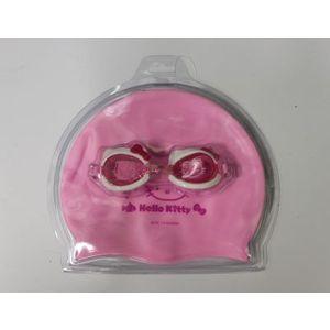 Набор для плавания Hello Kitty HEY32623 (очки+шапочка) набор автоаксессуаров hello kitty helo kitty
