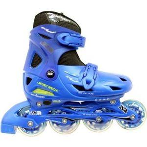 Роликовые коньки Joerex JX3 синие роликовые коньки для начинающих play one для малышей синие и красные