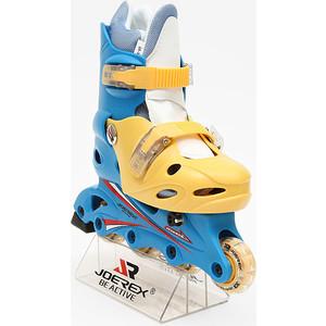 Роликовые коньки Joerex RO0306 (синий/желтый) секундомер joerex 4399 110