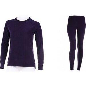 Комплект женского термобелья Guahoo рубашка и лосины ( 701 S/DVT / 701 P/DVT)