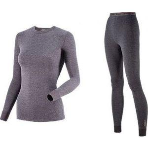 Комплект женского термобелья Guahoo рубашка и лосины (21-0611 S/DGY / 21-0611 P/DGY)