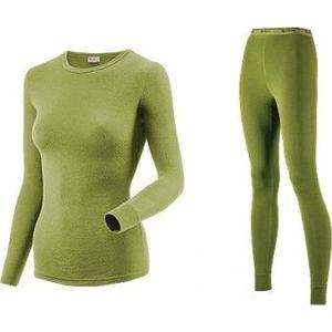 Комплект женского термобелья Guahoo рубашка и лосины (22-0571 S/LGN / 22-0571 P/LGN)