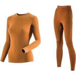 Комплект женского термобелья Guahoo рубашка и лосины (22-0601 S/BR / 22-0601 P/BR)