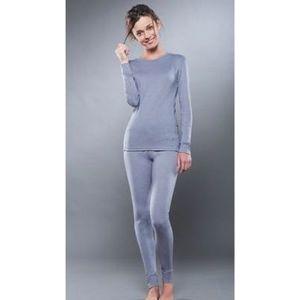 Комплект женского термобелья Guahoo рубашка и лосины (261S/GY / 261P-GY)
