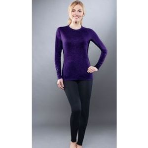 Комплект женского термобелья Guahoo рубашка и лосины (301 S/VT / 301 P/BK)