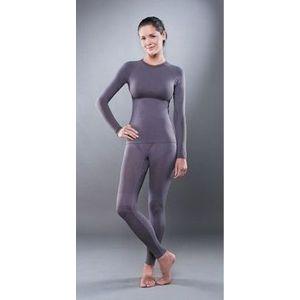 Комплект женского термобелья Guahoo рубашка и лосины (531 S-GY / 531 P-GY)