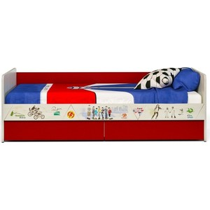 Кровать СКАНД-МЕБЕЛЬ Актив-1 К стеллаж сканд мебель корсар 1