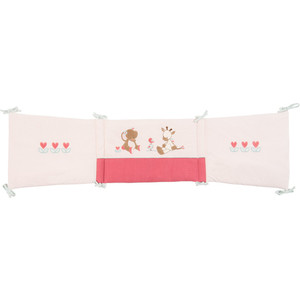 Бортик Nattou (Наттоу) Charlotte & Rose для кровати универсальный 655408 бортики в кроватку nattou charlotte