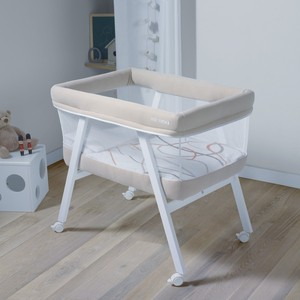 Колыбель Micuna (Микуна) Mini Fresh с текстилем МО-1560 white/beige колыбель с текстилем micuna mini fresh white pio pio