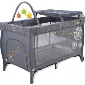 Манеж Asalvo (Асальво) Travel Cot Mix Plus Dandelion 11473