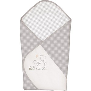 Одеяло-конверт Ceba Baby (Себа Беби) Papa Bear Grey вышивка W-810-004-260 5x7ft baby bear kids floor wall window photography background studio photo prop photographic backdrop cloth 1 5x 2 1m