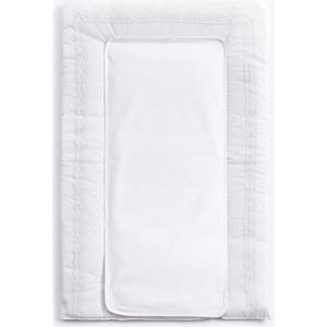 Покрывало (матрасик) Fiorellino Premium Baby (Фиореллино Премиум Беби) для пеленания 50*80см белый накладки для пеленания bebe jou накладка для пеленания 6800 72х44