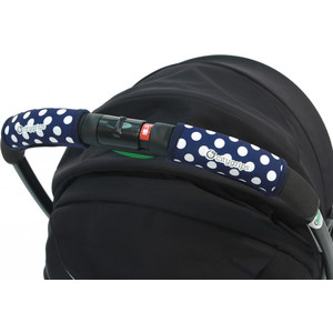Чехлы Choopie CityGrips (Сити Грипс) на ручку для универсальной коляски 368/4233 polka-dot navy plus polka dot self belted surplice wrap asymmetrical ruffle dress