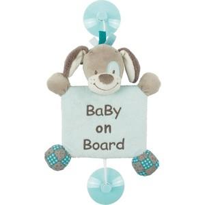 Игрушка мягкая Nattou Знак Baby on board (Наттоу) Gaston & Cyri Собачка 531290